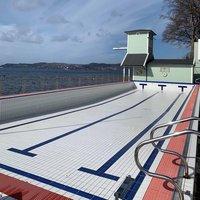 Nordnes Sjøbad tømt for vedlikehold
