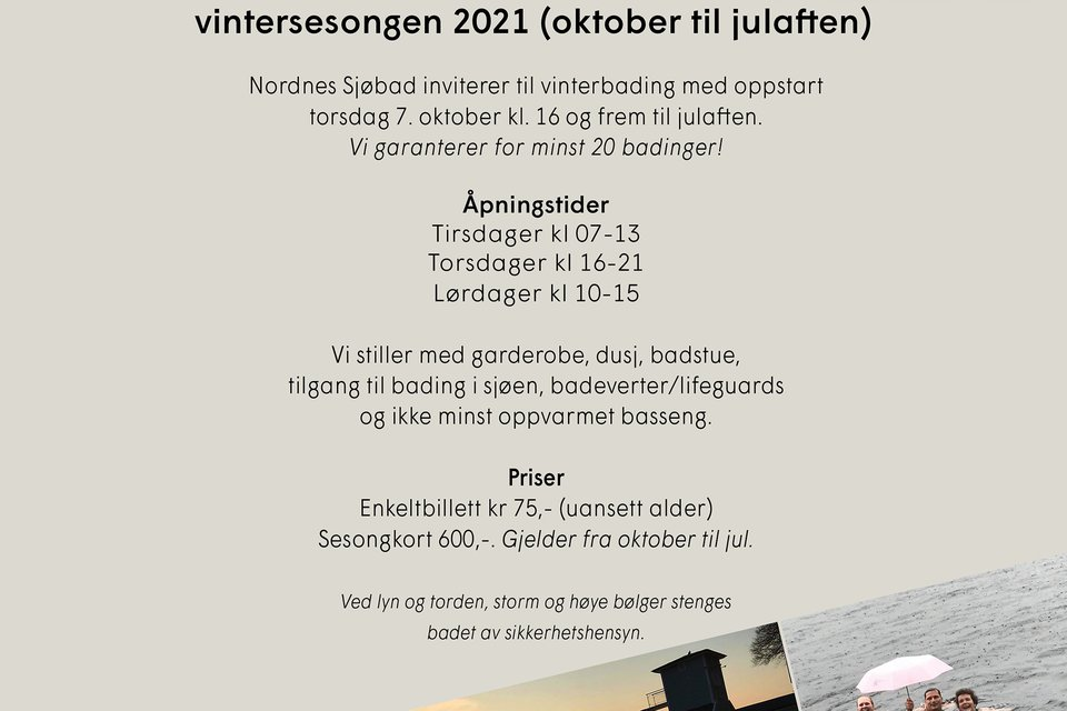 Nordnes vinterbading 2021