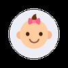 Babysvomming ikon
