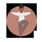Fysio-pilates ikon