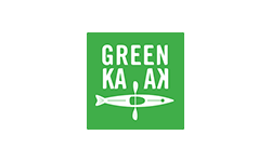 Green kayak