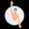 Svømme ikon